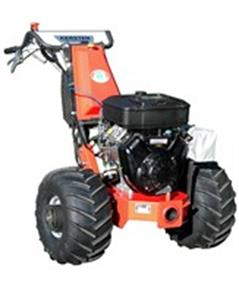 Electric single axle for agricultural and area operation.